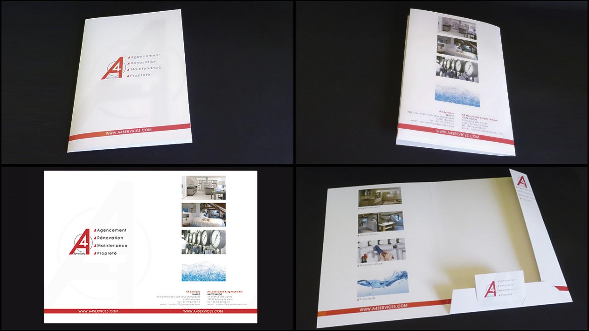 Brochures Carte De Visites Finitions Luxe